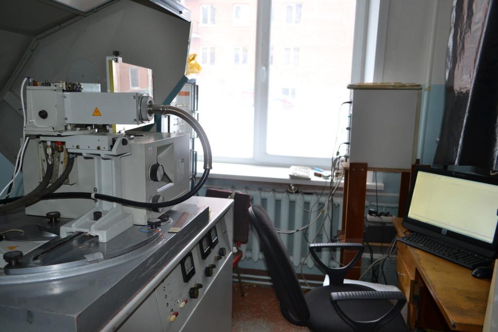 Программно-аппаратный комплекс для управления рентгеновским дифрактометром ДРОН-3 позволяет регистрировать рентгенограммы и формировать базу данных рентгеноструктурных исследований