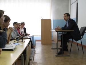 Встреча Президента Российской Федерации Д.А. Медведева со студентами физико-технического факультета АлтГУ, обучающимися по информационной безопасности