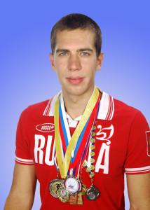 Лауреат Международных и Всероссийских соревнований по конькобежному спорту магистрант И.В. Башков