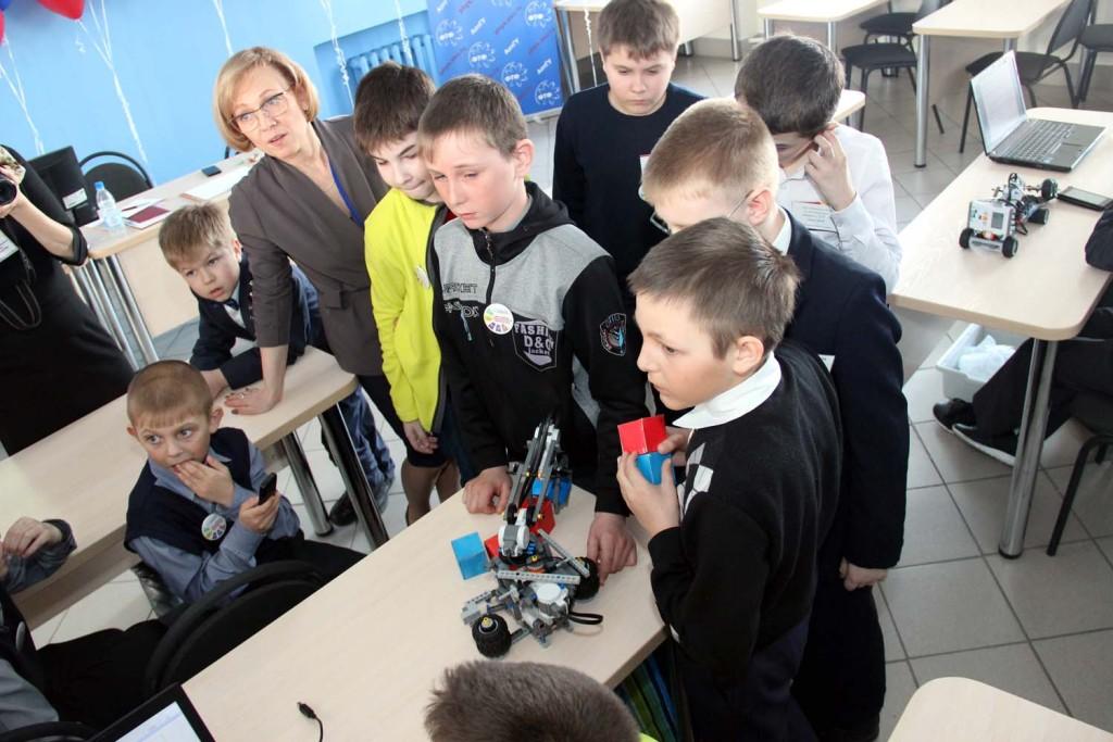 конкурса по робототехнике